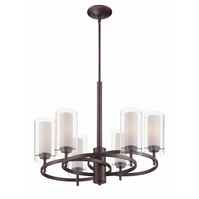 Philips Forecast Lighting Hula 6 Light Chandelier