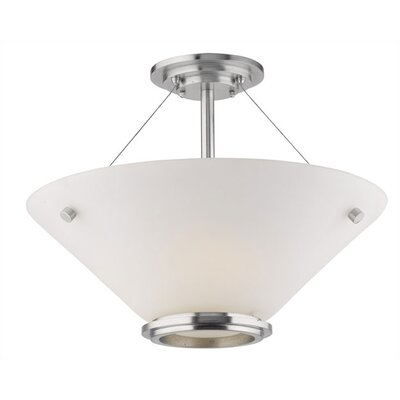 Philips Forecast Lighting Town & Country Semi Flush Mount