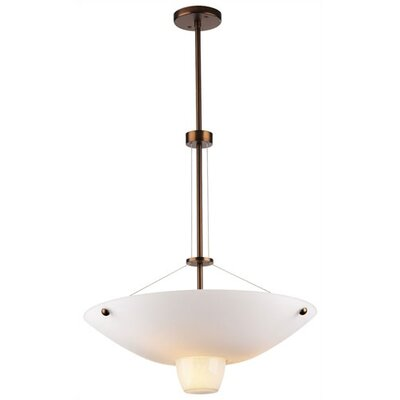 Philips Forecast Lighting Quattro 4 Light Inverted Pendant