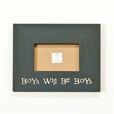 Twelve Timbers Boys Will Be Boys Picture Frame