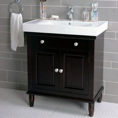"Lanza 30"" Single Bathroom Vanity Set"