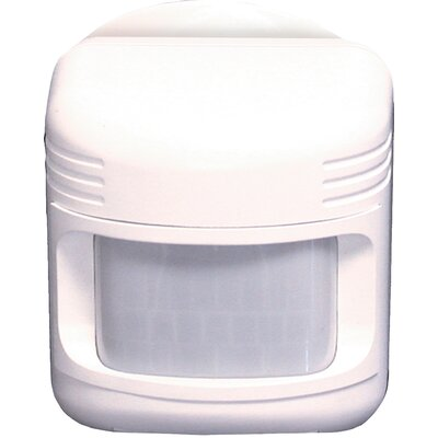 180 Degree Wireless Motion Sensor in White