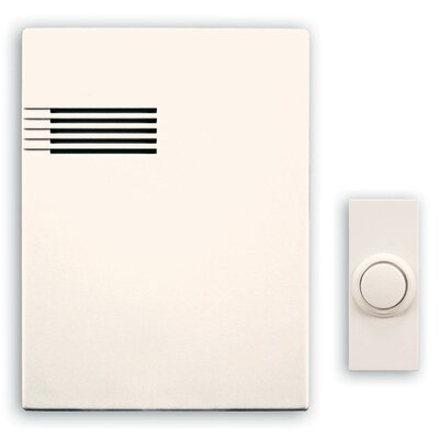 Heath-Zenith Musical Décor Wireless 64-Tune Musical Door Chime Kit