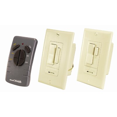 Heath-Zenith Wireless Command RF 3 Way Wall Switch