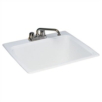 "Swanstone Veritek 25"" x 22"" Drop-In Laundry Sink"