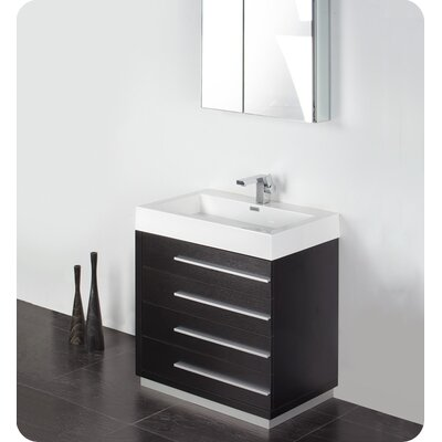 Fresca Livello 30&quot; Modern Bathroom Vanity with Medicine Cabinet