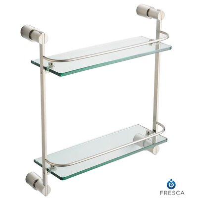 Fresca Magnifico 2 Tier Glass Shelf