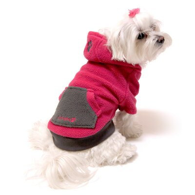 Fou Fou Dog Fou-Lar Fleece Dog Hoody