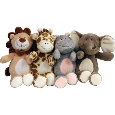 Safari Friends Toy (Set of 4)