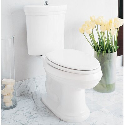 Porcher Archive Elongated Toilet in White