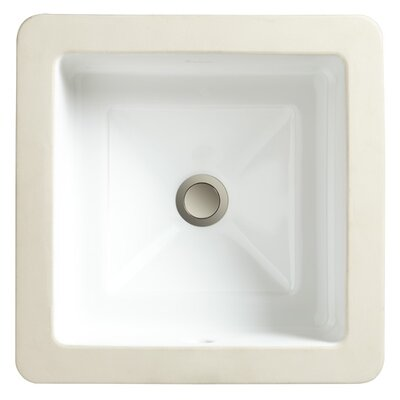 Marquee Square Medium Undermount Bathroom Sink - 12080-09