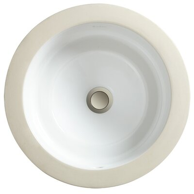 Marquee Petite Round Small Undermount Bathroom Sink - 12110-00