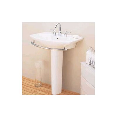 Porcher L'Expression Pedestal Bathroom Sink Set