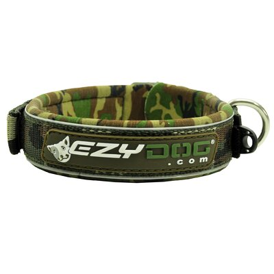 EzyDog Neo Dog Collar in Green Camo