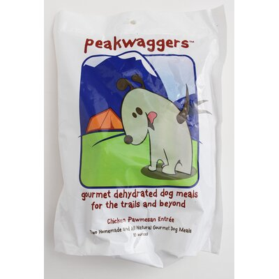 Peakwaggers Chicken Pawmesan Entrée Dry Dog Food (10-oz. Bag)