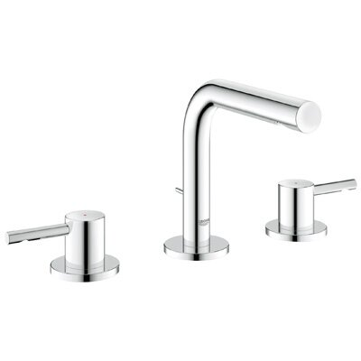 Essence Widespread Bathroom Faucet with Double Lever Handles - 20297000