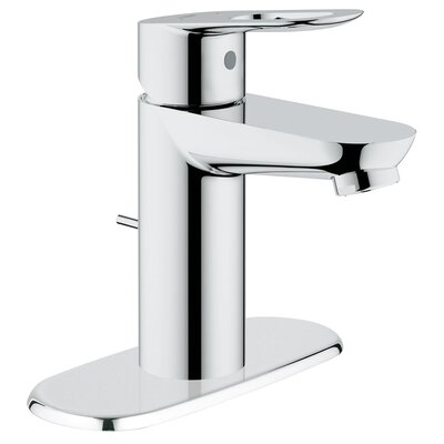 Grohe BauLoop Single Handle Centerset Bathroom Faucet with Drain Escutcheon