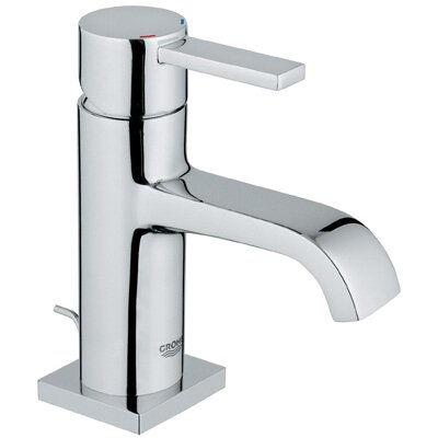 Grohe Allure Single Hole Bathroom Faucet with Single Handle