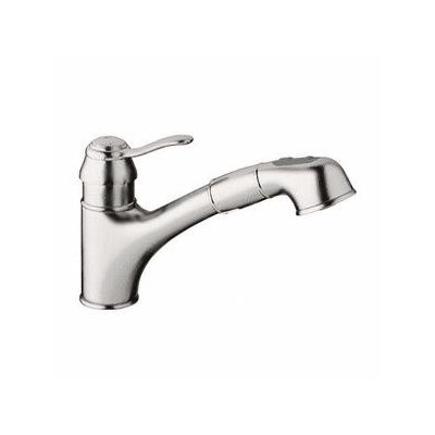 Grohe Ashford Eco-Friendly Pull Out Single Handle Single Hole Kitchen Faucet