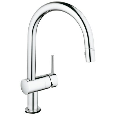 Grohe Minta Touch Single Handle Single Hole Kitchen Faucet with Touch Control