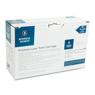 Business Source Toner Cartridge, 6800 Page Yield, Black