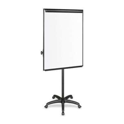 Bi-silque Visual Communication Product, Inc. Mobile Presentation Easel, Platinum, Magnetic, Silver