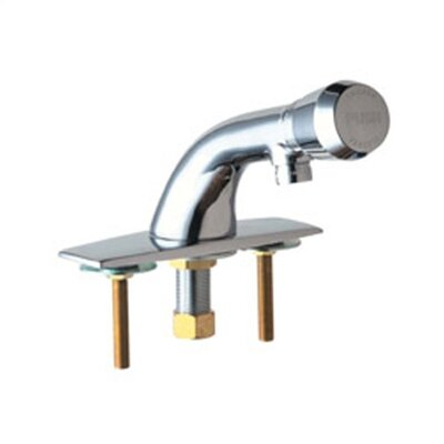 Chicago Faucets Single Hole Bathroom Faucet with Single Handle