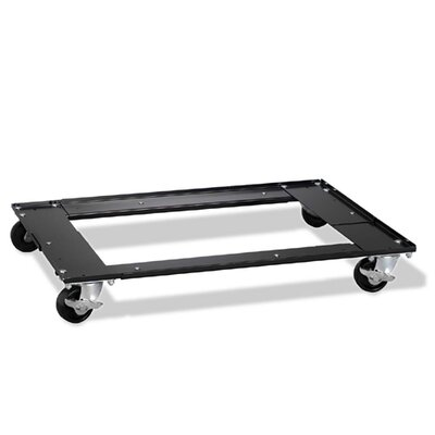 "Hirsh Industries Commercial Cabinet Dolly, 5-1/2""x27""x5-1/2"", Black"