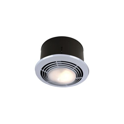 Broan Nutone Round 70 CFM Bathroom Fan with Heater and Light