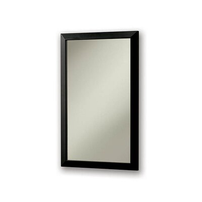 City Recessed Cabinet with Flat Front Mirror