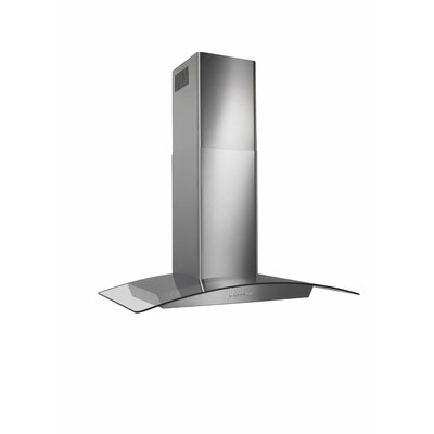 Curved Glass Canopy Range Hood