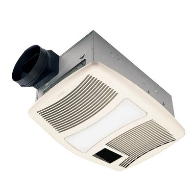 Broan Nutone Ultra Silent Bathroom Exhaust Fan and Heater with ...