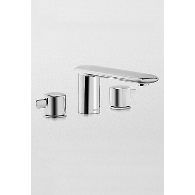 Toto Aquia Double Handle Deck Mount Tub Only Faucet