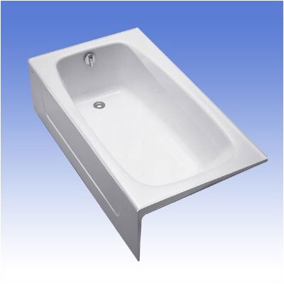 "Toto 60 x 32"" Enameled Cast Iron Bath Tub"