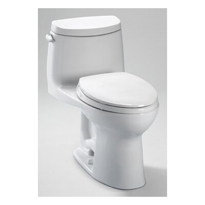 Gwyneth 1.28 GPF Elongated 1 Piece Toilet with SanaGloss