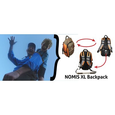 PiggyBackRider NOMIS XL Backpack and Child Carrier