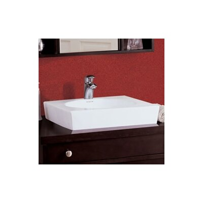 Classically Redefined Square Ceramic Vessel Sink - 1425-CWH
