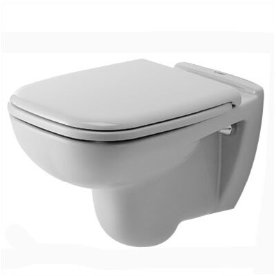 Duravit D-Code Wall Mounted Toilet in White