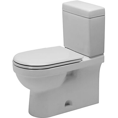 Duravit Happy D. Two Piece Toilet in White