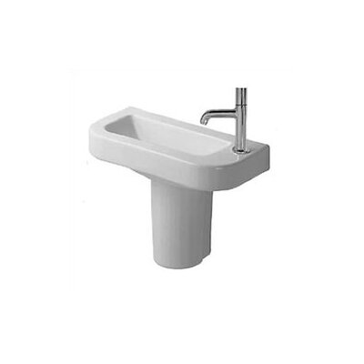 Happy D. Semi Pedestal Bathroom Sink - D14019