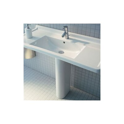 "Duravit Starck 3 41"" Pedestal Bathroom Sink"