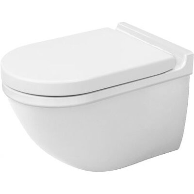 Duravit Starck 3 Wall Mounted Round 1 Piece Toilet