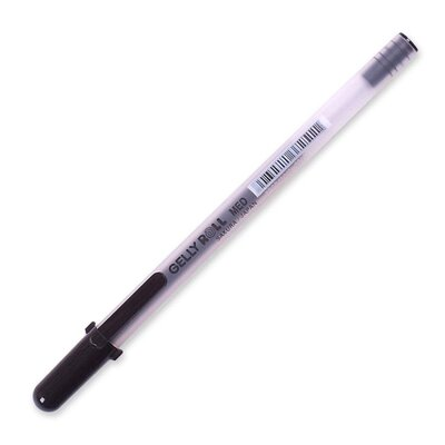 Sakura of America Rollerball Gel Pen, Medium, Black