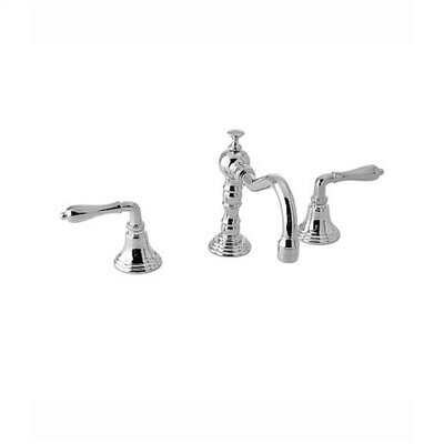 Victorian Widespread Bathroom Faucet with Double Lever Handles - 853/248