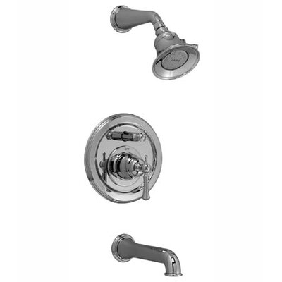 Jado Hatteras Pressure Balance Tub and Shower Set with Lever Handle