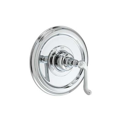 Jado Classic Pressure Balance Thermostatic Faucet Shower Faucet Trim with Curved Lever Handle