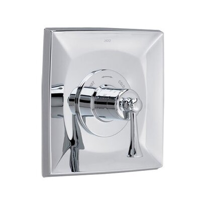 "Jado Illume 0.75"" Thermostatic Mixing Faucet Shower Faucet Trim Only with Lever Handle"