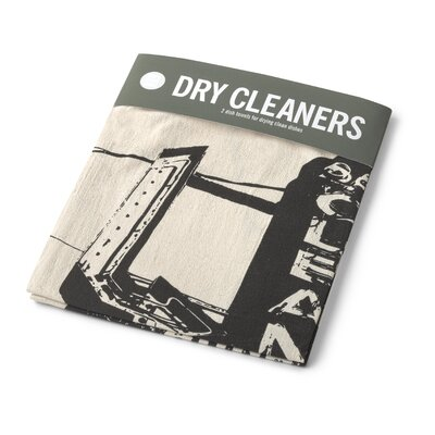 Bob's Your Uncle Dry Cleaner Dish Towel (Set of 2)