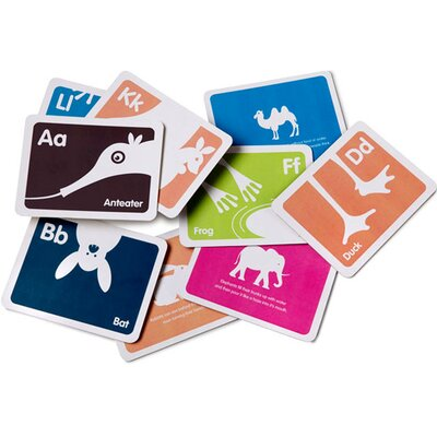 Bob's Your Uncle A-Z Animal Flashcard Set