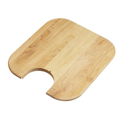 "Elkay 16.75"" x 15"" Hardwood Cutting Board"